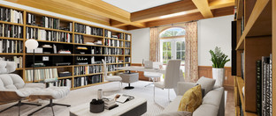 After Virtual Staging - Home Office