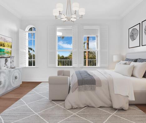 3rd Floor Virtually Staged Bedroom