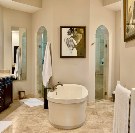 Beautiful & Updated Master Bath