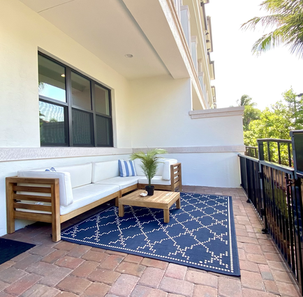 A Private Outdoor Space