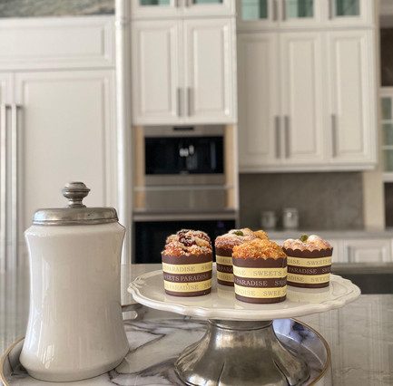 Staging Vignette - Cupcakes