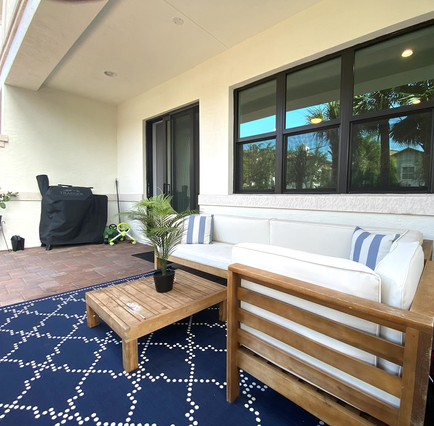 Outdoor Space for Entertaining