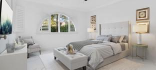 Virtually Staged Luxury Bedroom