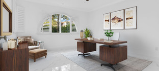 Virtually Staged Office