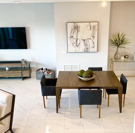 Open Floor Concept Living