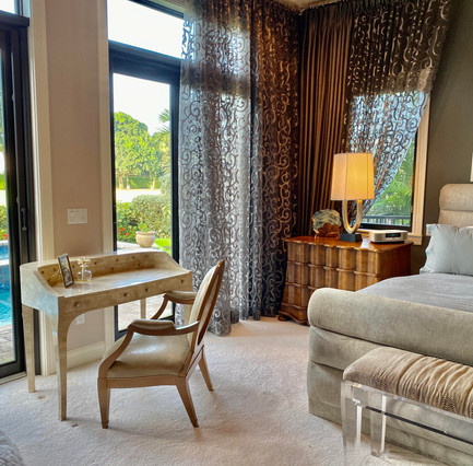 Master Bedroom w. Beautiful Views