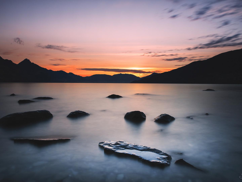 Kelvin Heights - sunset 2