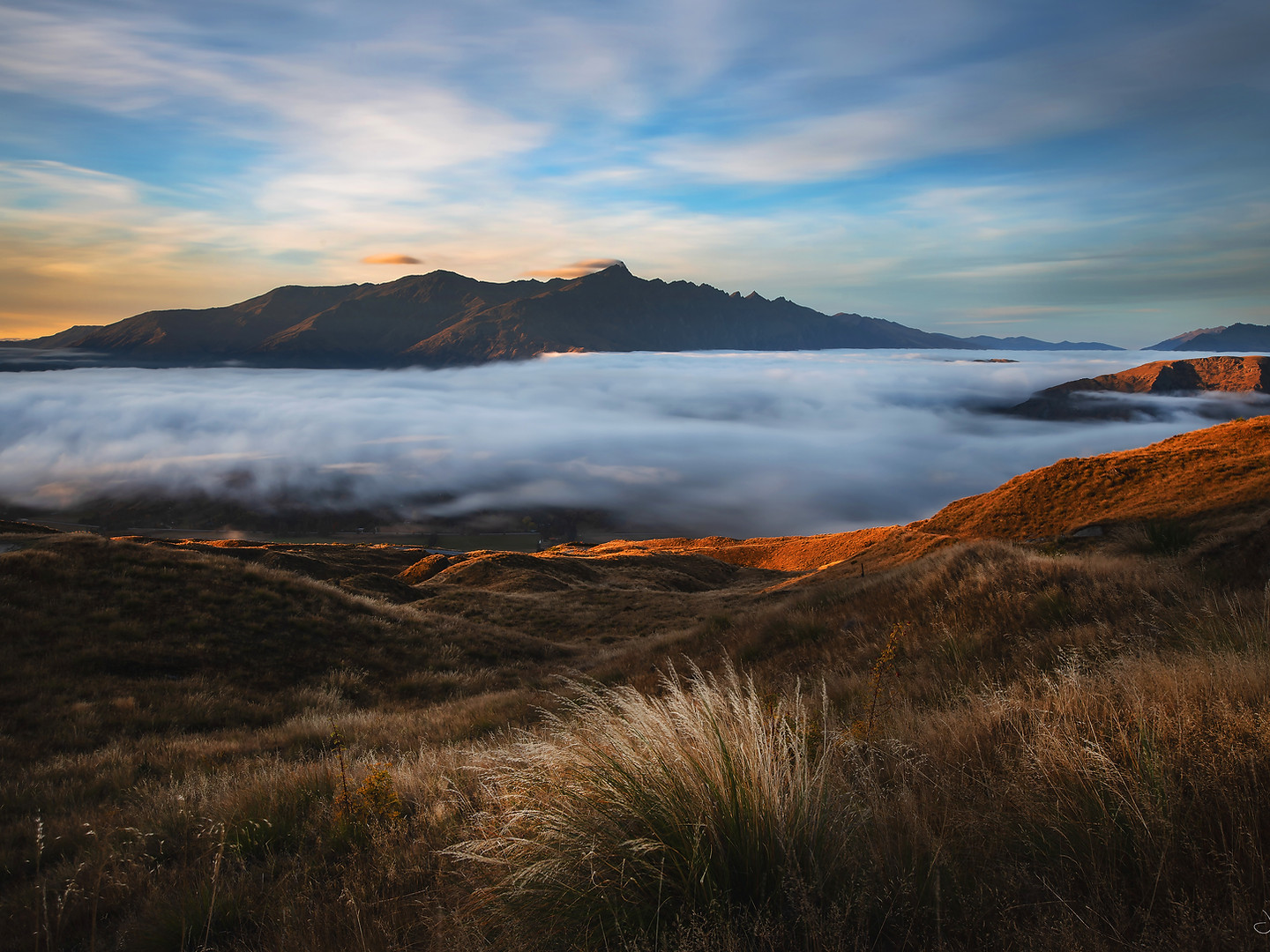 Coronet peak - sunrise