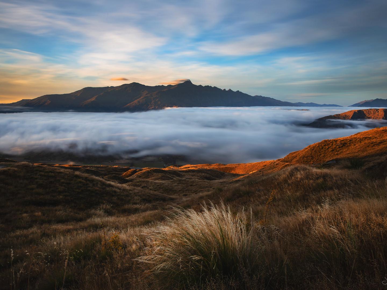 Coronet peak - sunrise