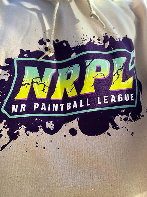 Tan NRXL Splatter Hoodie
