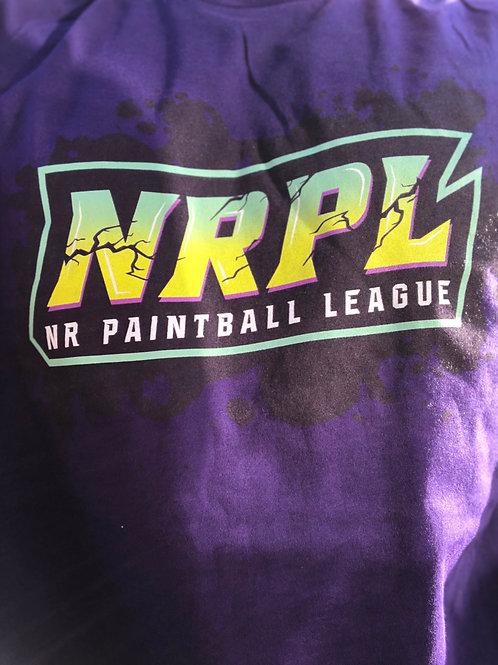 Purple NRPL Splatter T-Shirt
