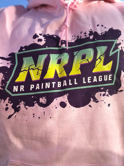 Pink NRPL Splatter Hoodie