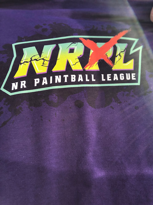 Purple NRXL Splatter T-Shirt