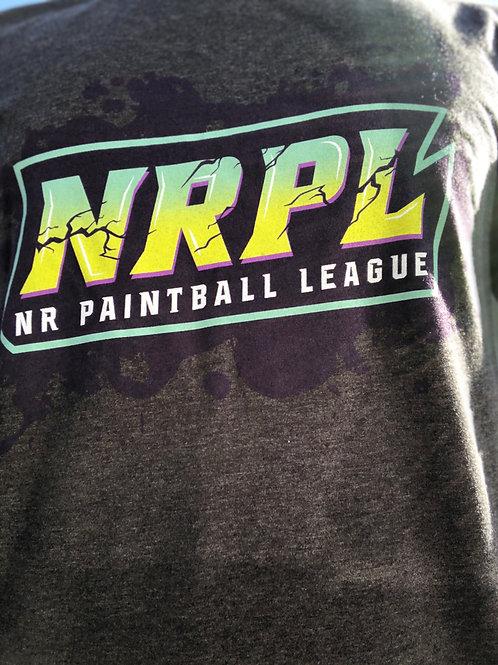 Grey NRPL Splatter Hoodie