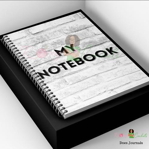 My Notebook Journal