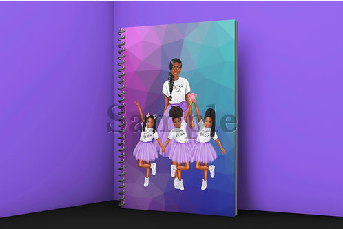 Mother with three Daughters Journal