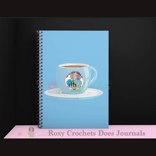 Blue JnJ Tea Cup Journal