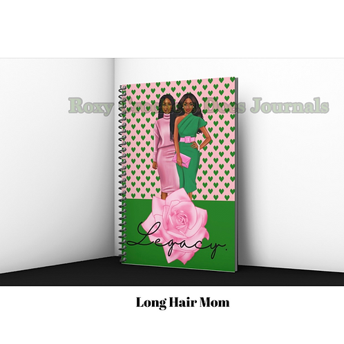 Legacy Inspired Journal - Mother and Daughter