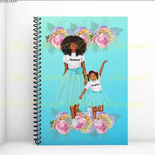Sky Blue:: Mommy and Daughter