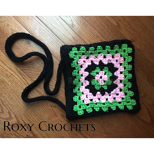 PRE ORDER:  Black Pretty Crossover Purse