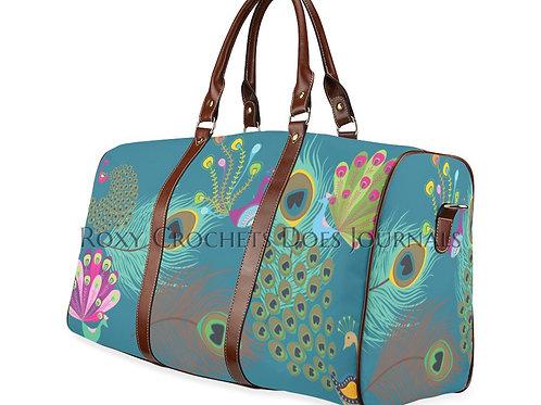 Peacock Travel Bag (Pre Order)