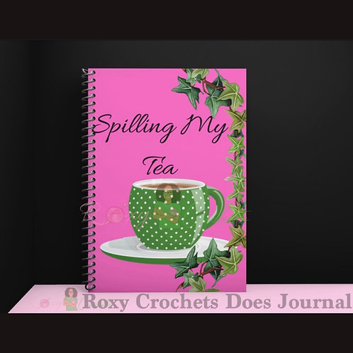 Spilling My Tea Journal - Ivy Edition