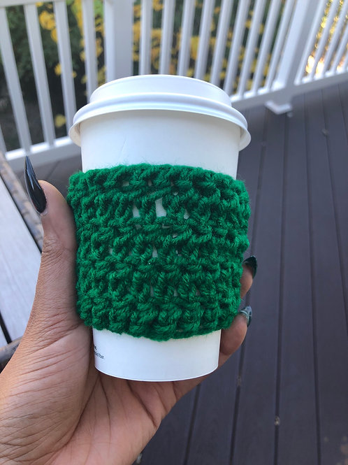 Hunter Green Cup Cozy