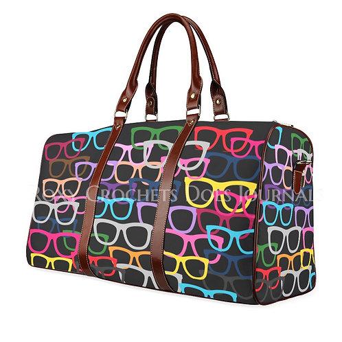 Black Glasses Bag And Journal Set (Pre-Order)