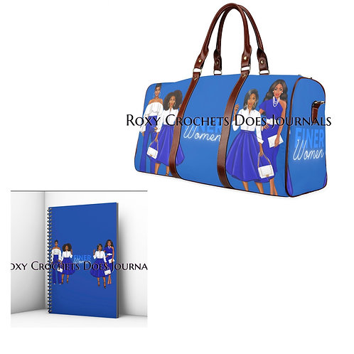 Finer Women Matching Journal and Travel Bag (Pre Order)