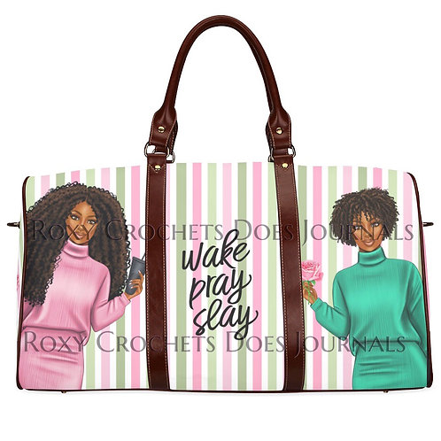 Wake Pray Slay Travel Bag (Pre Order)