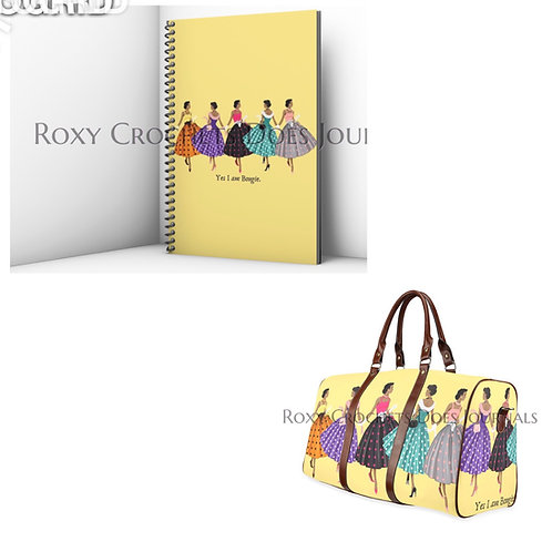 Yes I am Bougie Journal and Travel Bag (Pre-Order)