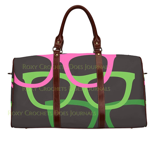 Pink and Green Glasses Bag (Pre-Order)