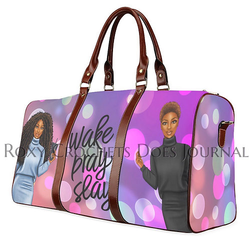 Wake Pray Slay Travel Bag (Pre Order)
