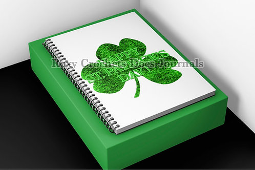 Happy St Patrick's Day Journal