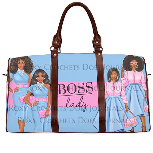 Boss Lady Matching Journal and Travel Bag (Pre Order)