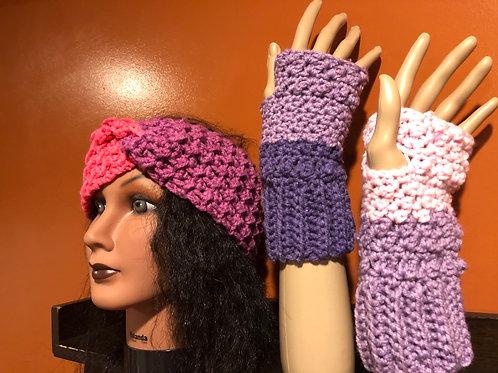 Purple and Pink Set