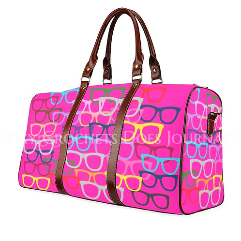 Pink Glasses Travel Bag (Pre Order)