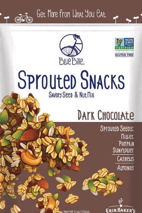 Erin Baker -Blue Bike - Sprouted Snacks - Dark Chocolate