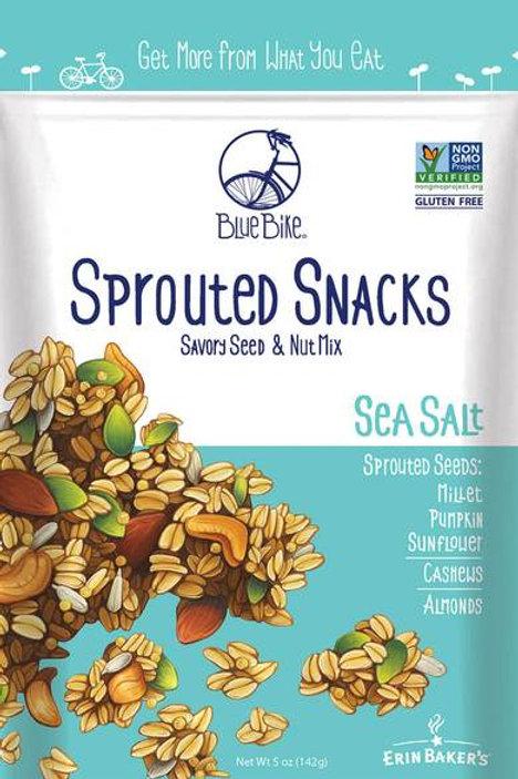 Erin Baker -Blue Bike - Sprouted Snacks - Sea Salt