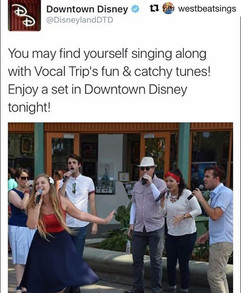 Come hang out with Vocal Trip today at D