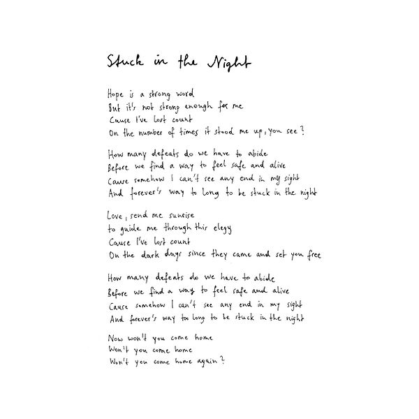 2. Stuck In The Night lyrics.jpg