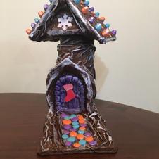 Elf-Gingerbread House