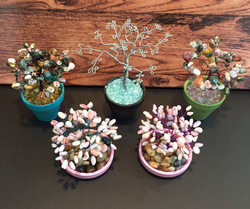 Jaspers & Natural Opal Trees