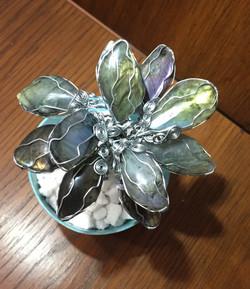 Labradorite Flower