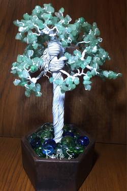 Lady in the Tree - Aventurine Stones