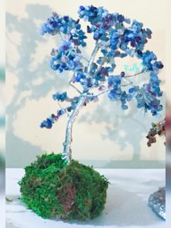 Blue Quartz Tree