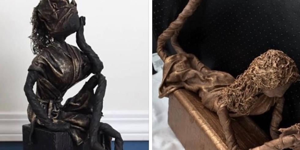 Paverpol Beginner Girl Figurine - Tshirt wrap