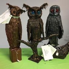 The owl family - Olivia, Oscar & Oliver