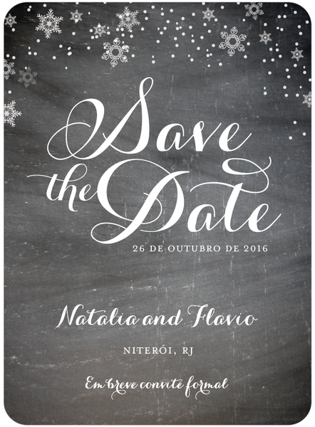 Wedding Save The Date Email