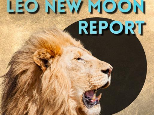 Leo New Moon Report 2021